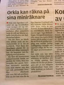 Insändare från Örjan Mattsson (K)