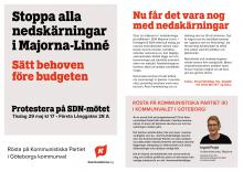 Flygblad från Kommunistiska Partiet